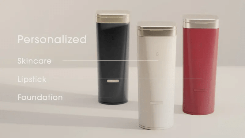 L'Oreal's Perso device can create custom formulated skincare, lipstick, and foundation.