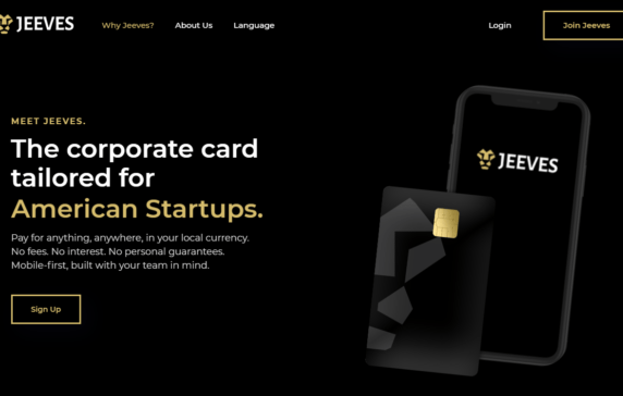 Expense Management And Corporate Card For Startups Provider Jeeves Raised $57M To Expand Globally