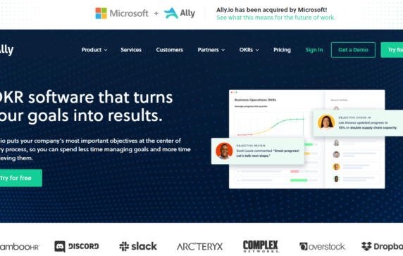 Microsoft Acquires OKR Software Firm Ally.io, Which Was Last Valued At $354.1M